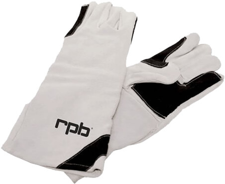 RPB Double Palm Leather Blasting Gloves